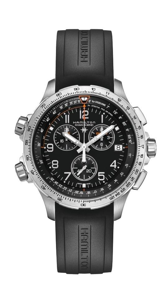 Hamilton - Khaki Aviation X-Wind Chrono Quartz GMT - Welt der Uhren ...