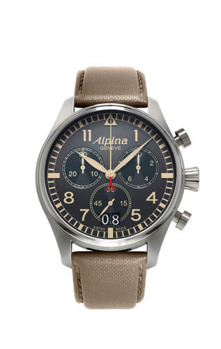Alpina -  Pilot Chronograph Big Date