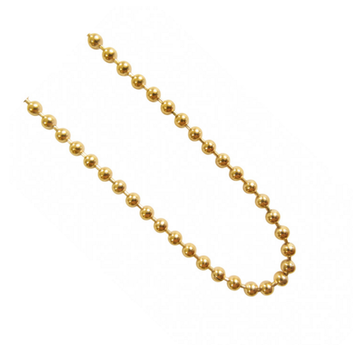 Blumenkind - Kugelkette IP-Gold 80cm/3mm