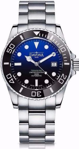 Davosa Ternos Pro USA Diver Automatic Faded Blue Limited Edition